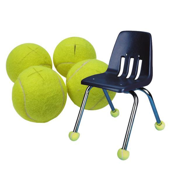 바닥보호 소음방지 의자발캡용 테니스공 4P