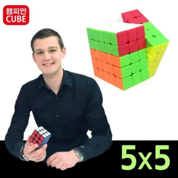 챔피언 비너스 전문가용 5x5 큐브 퍼즐