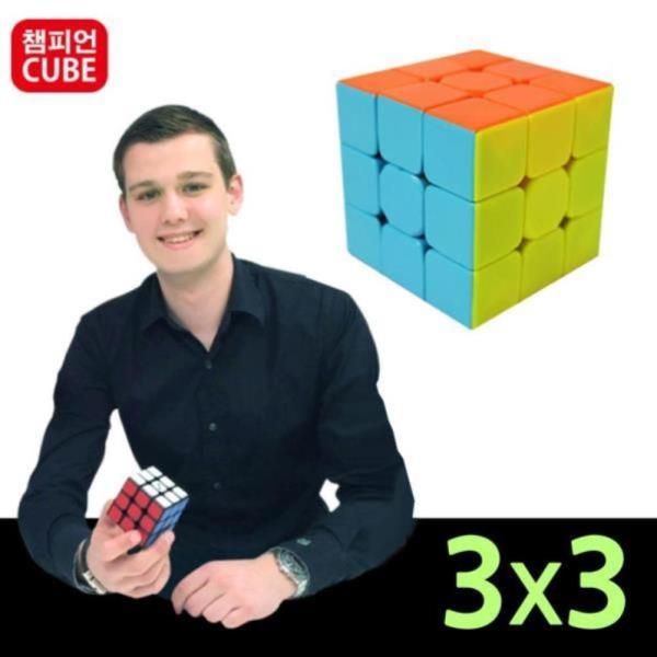 챔피언 머큐리 고급형 3x3 큐브 퍼즐
