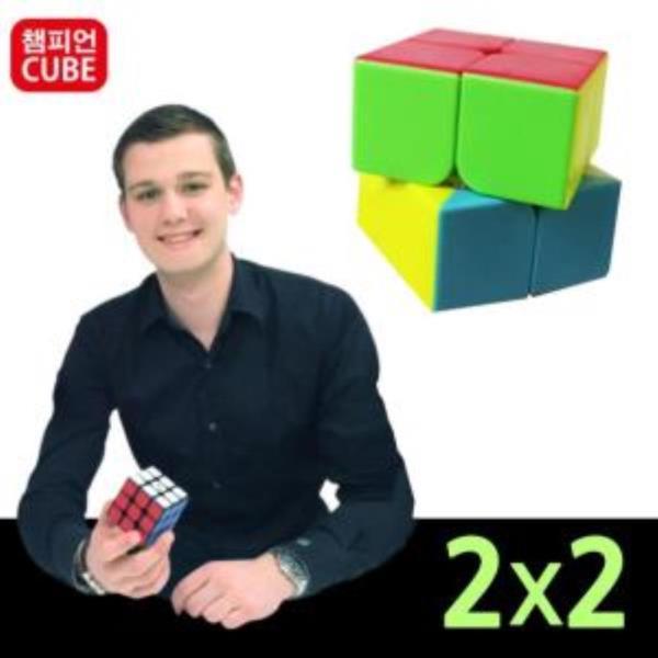 챔피언 코코 입문용 2x2 큐브 퍼즐