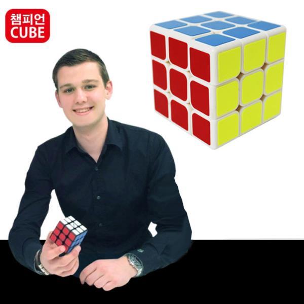 챔피언 빅뱅 저가스티커형 3x3 큐브 퍼즐