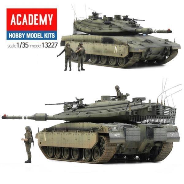 프라모델227 이스라엘 메르카바IV 탱크 전차