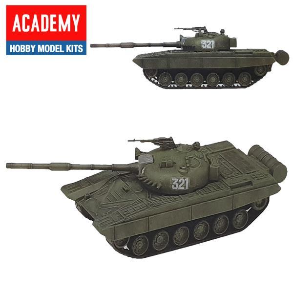 AC006 러시아 주력전차 T72 탱크 1대48