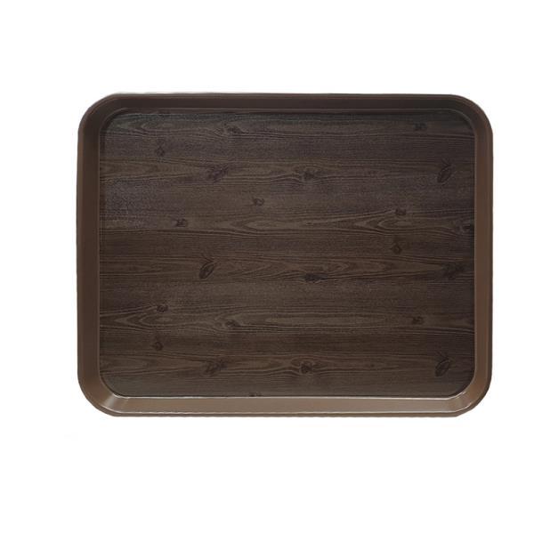 옹이 나무무늬 업소용 사각쟁반 4-1호
