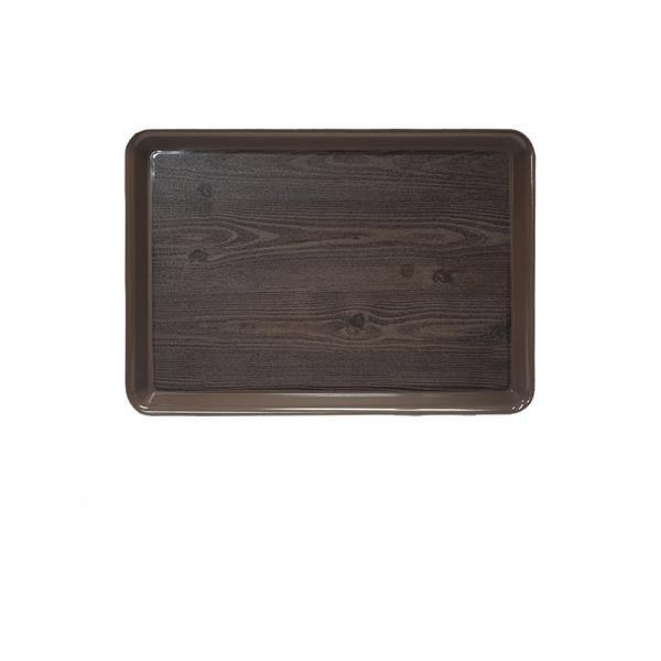 옹이 나무무늬 업소용 사각쟁반 2호