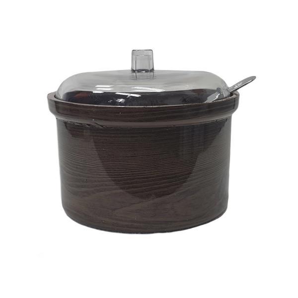 옹이 나무무늬 업소용 양념단지 3호