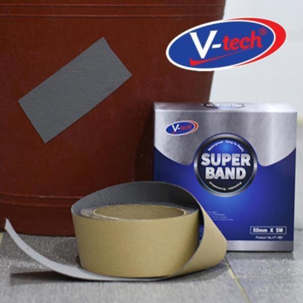 V텍 슈퍼밴드 내열내한 방수 보수테이프