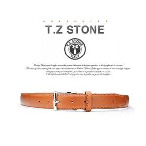 (티지스톤)-TZ1D105LB 클래식 프리미엄 이태리카프 연브라운벨트