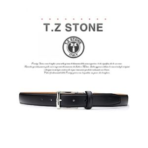 (티지스톤)-TZ1D105BK 클래식 프리미엄 이태리카프 블랙벨트