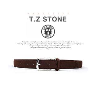 (티지스톤)-TZ1D104DB 클래식 스웨이드 다크브라운벨트