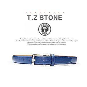 (티지스톤)-TZ1D103NY 클래식 사피아노 네이비벨트