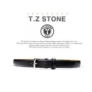 (티지스톤)-TZ1D103BK 클래식 사피아노 블랙벨트