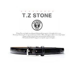 (티지스톤)-TZ1D101BK 클래식 악어패턴 블랙벨트