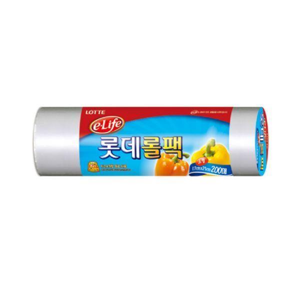 롯데롤팩(A)17X25X200매
