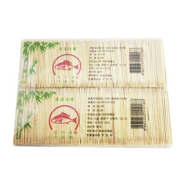 대나무이쑤시개400p(양면)x10개_요지
