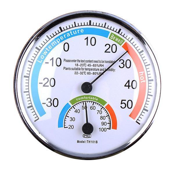 고급정밀온도습도계(13cm)