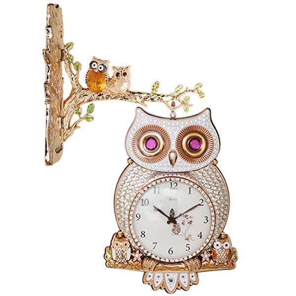 아르떼 부엉이 양면시계(G)