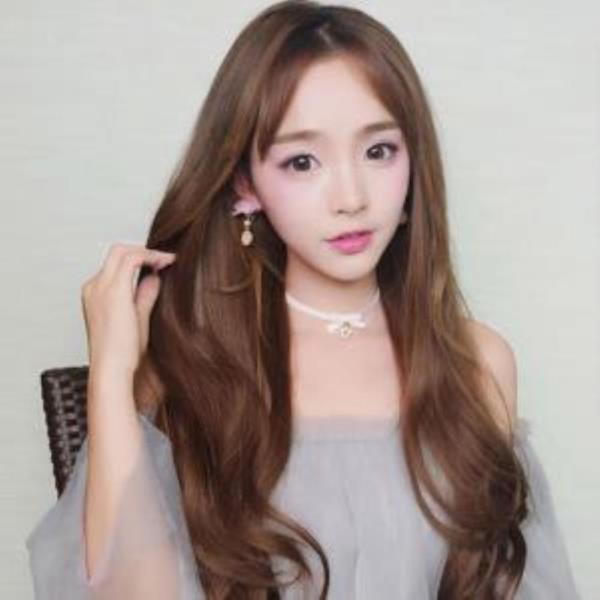 반가발 스타일 웨이브여신가발(망포함)