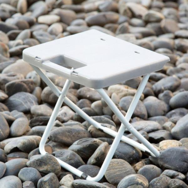 휴대용 플라스틱 접이식 의자 스툴 보조 캠핑미니체어