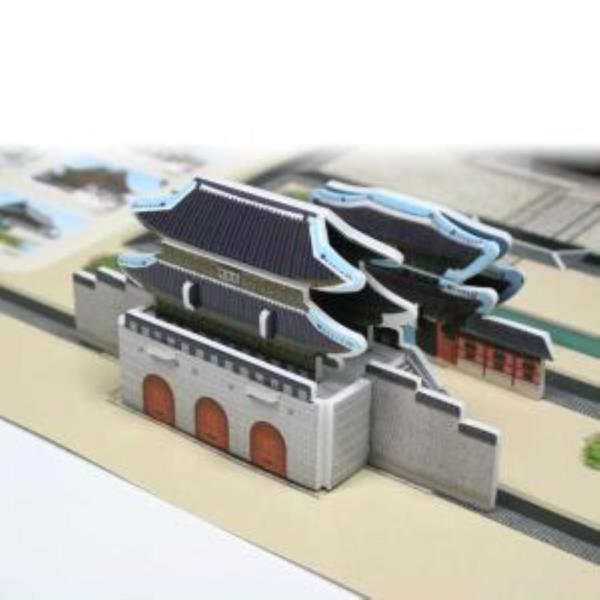 크래커플러스 경복궁 3D 입체 종이퍼즐 (PCP0106)