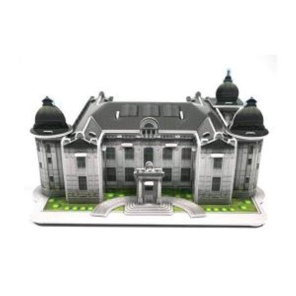 크래커플러스 화폐박물관 3D 입체 종이퍼즐 (PCP0108)