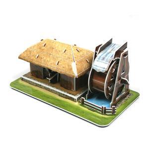 크래커플러스 물레방앗간 3D 입체 종이퍼즐 (PCP0109)