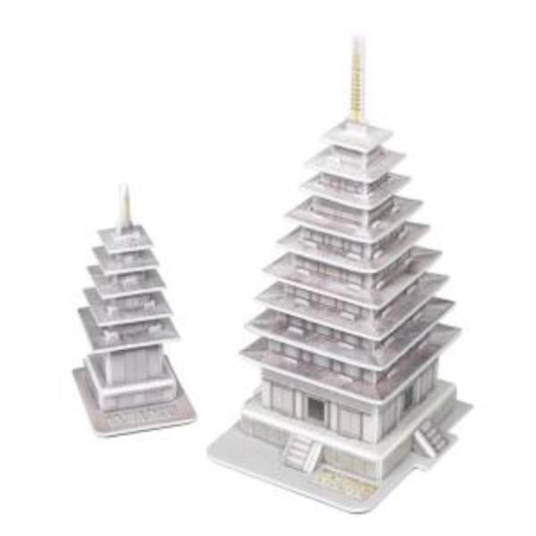 크래커플러스 미륵 정림사지 석탑 3D퍼즐 (PCP0204)