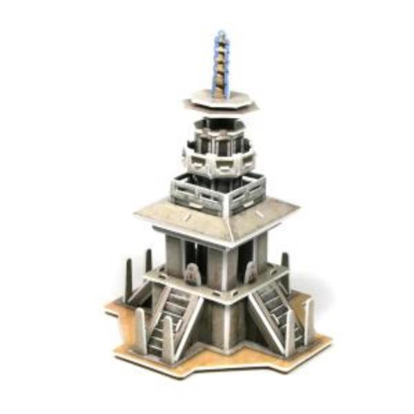 크래커플러스 다보탑 3D 입체 종이퍼즐 (PCP010B)
