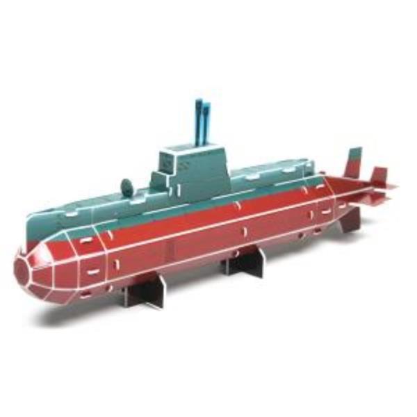 크래커플러스 잠수함 3D 입체 종이퍼즐 (PCP010D)