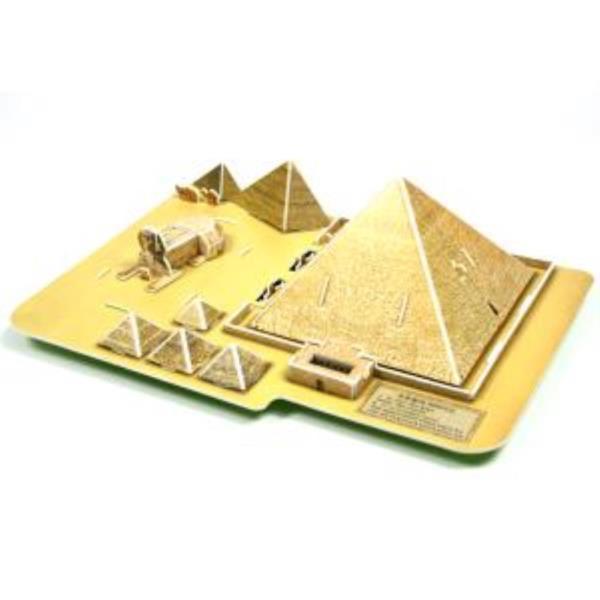 크래커플러스 피라미드 3D 입체 종이퍼즐 (PCP010K)