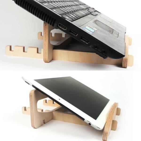 자작나무 노트북 거치대