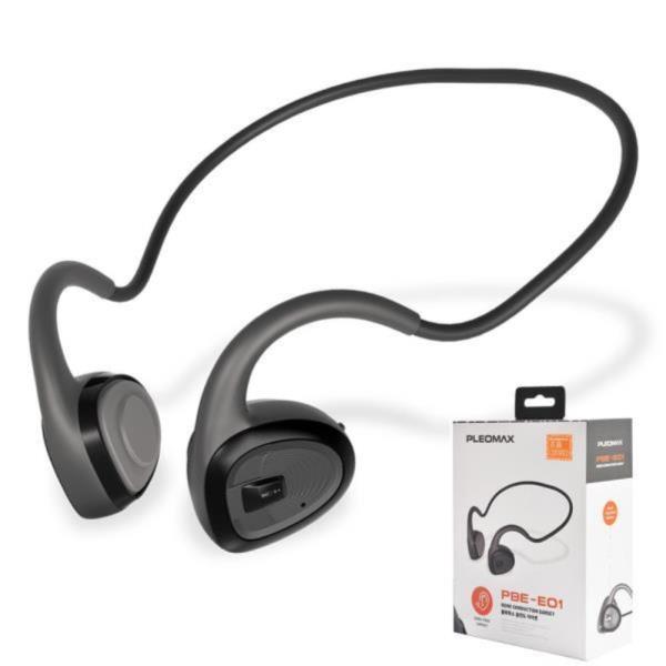 플레오맥스 PBE-E01 블루투스 골전도 이어폰 넥밴드
