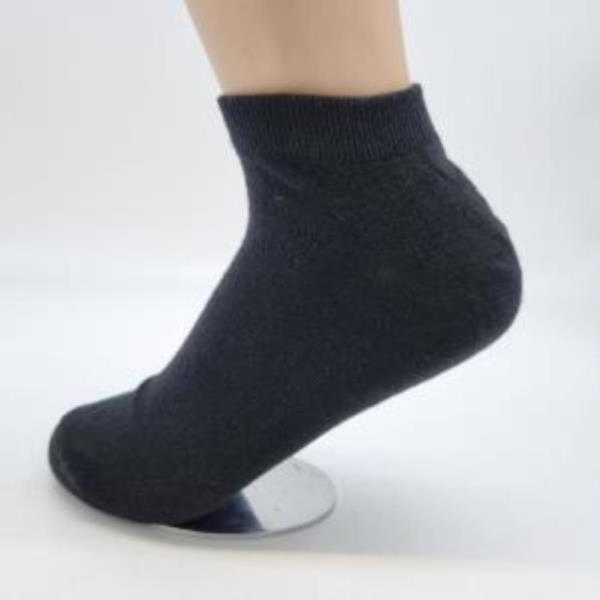 여자숙녀여성 여학생 발목양말 검은색양말 5족