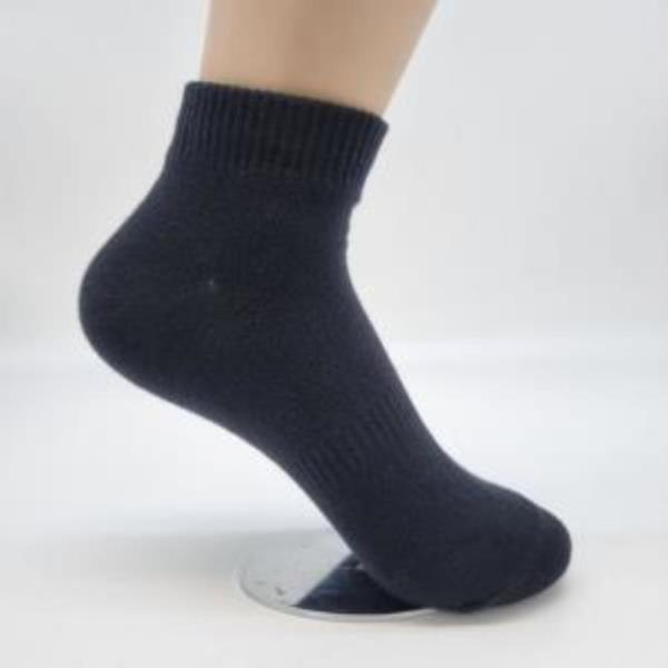 여자숙녀여성 여학생 발목양말 검은색라인양말 5족