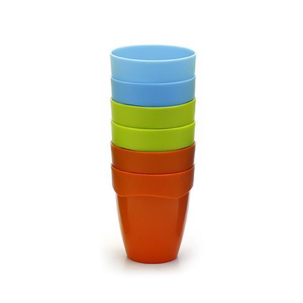컵 6p 파스텔 주스컵 소 플라스틱 물컵