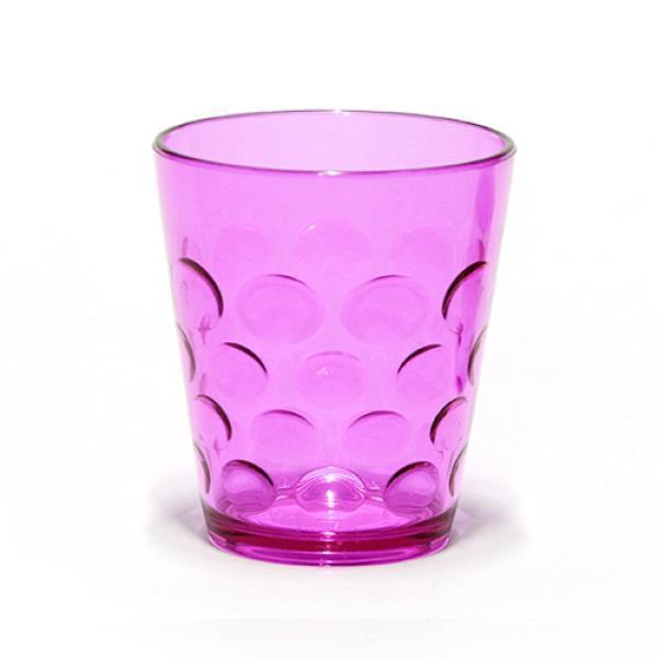 플라스틱컵 마키 심플 물방울 물컵 대 반투명