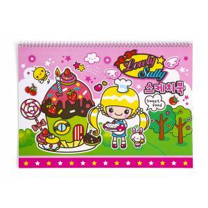8절 스케치북(여-9매)캐릭터 스케치북