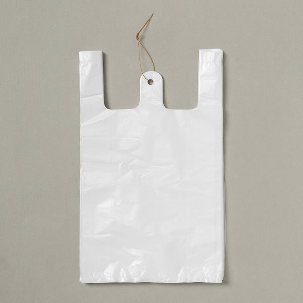 비닐 200p 비닐봉투 19.5cm 흰색 비닐봉지