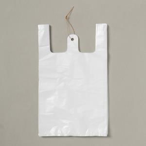 비닐 100p 비닐봉투 36.5cm 희색 비닐봉지
