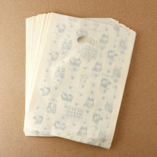 비닐 양장비닐봉투 베이지 27cm 100p다용도