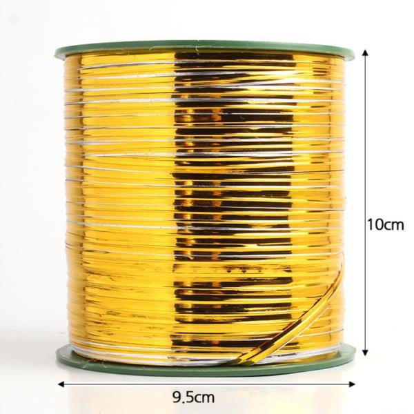 230m 포장용 빵끈금색은색 선물포장 컬러타이