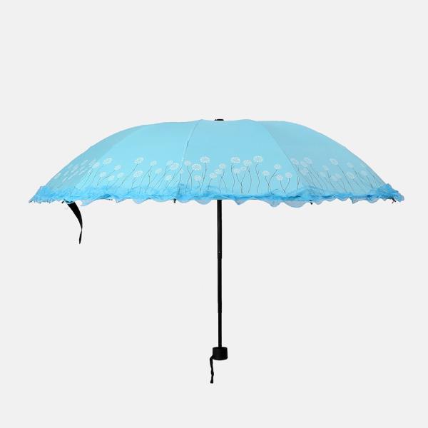 패션소품 우산 양우산 내담쇼핑몰 플로레인 3단 우산겸 양산 자외선차단 우양산