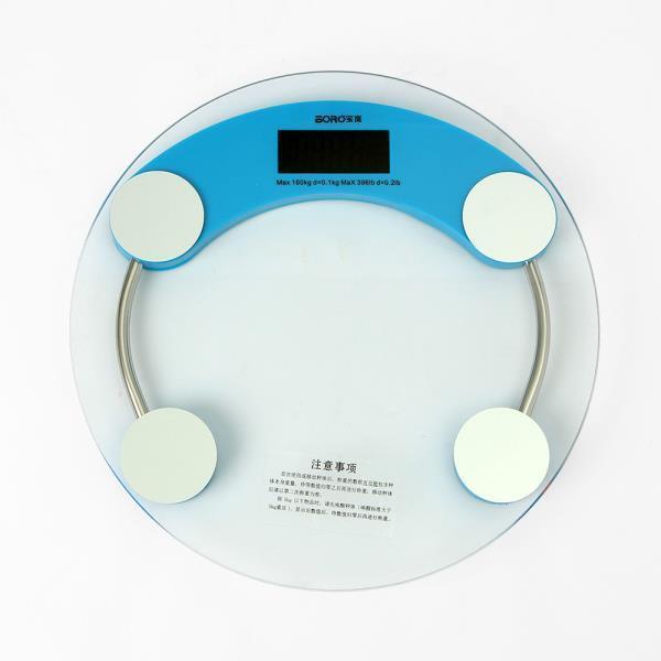 누드 원형 디지털 체중계 전자체중계