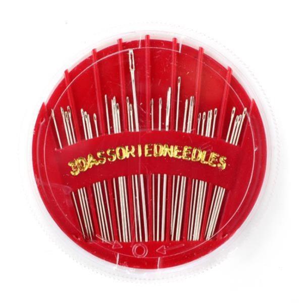바늘세트 24p 바늘세트 7cm 휴대용 반짇고리