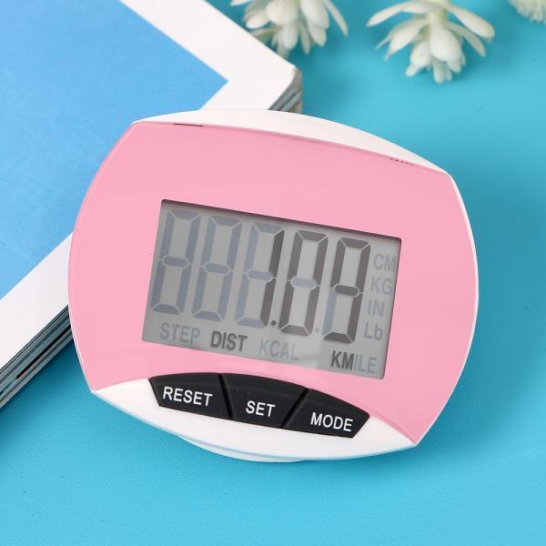 만보기 스마트 디지털 만보기 핑크 다이어트