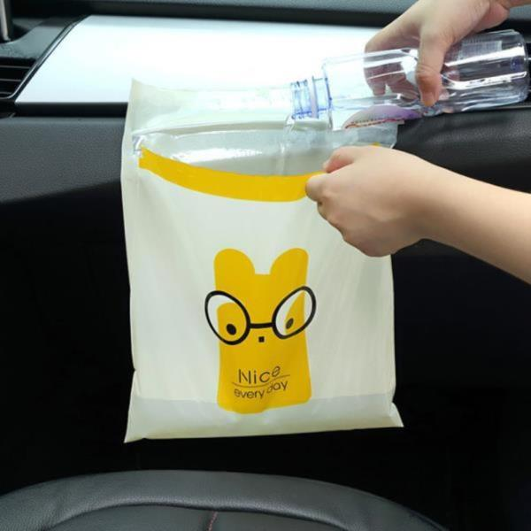 접착식비닐봉투세트 차량용 접착식 쓰레기봉투