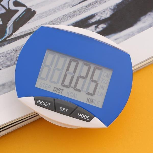 만보기 스마트 디지털 만보기 블루 다이어트