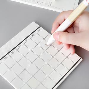 메모장 뜯어쓰는 먼슬리플래너 50매 떡메