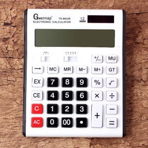 계산기 화이트 전자계산기사무용 일반계산기