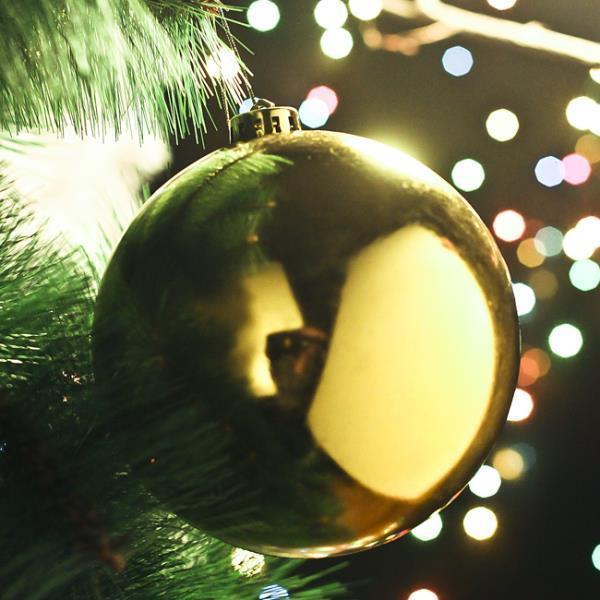 유광볼 골드 유광볼 크리스마스 트리 장식